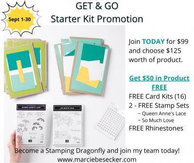 Get N Go Starter Kit Promotion